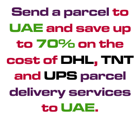 COURIER SERVICES FOR DUBAI