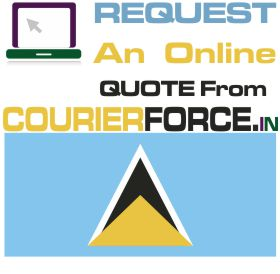 Courier Charges For Saint Lucia