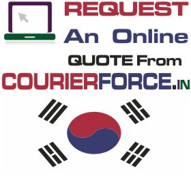 Courier Charges For South Korea