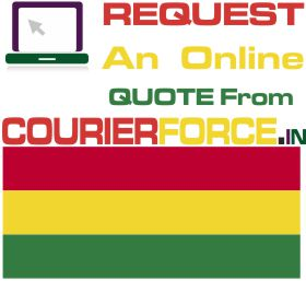 Courier charges to bolivia