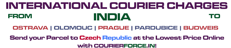 INTERNATIONAL COURIER SERVICE TO CZECH REPUBLIC