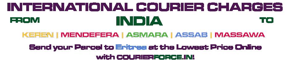 INTERNATIONAL COURIER SERVICE TO ERITREA