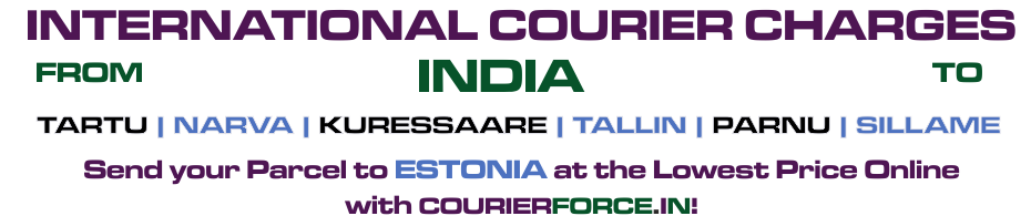 INTERNATIONAL COURIER SERVICE TO ESTONIA