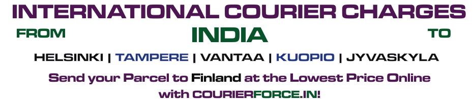INTERNATIONAL COURIER SERVICE TO FINLAND