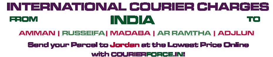 INTERNATIONAL COURIER SERVICE TO JORDAN