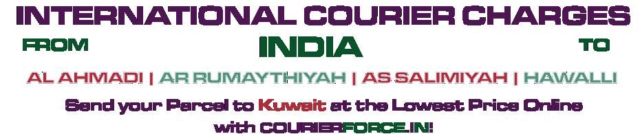 INTERNATIONAL COURIER SERVICE TO KUWAIT