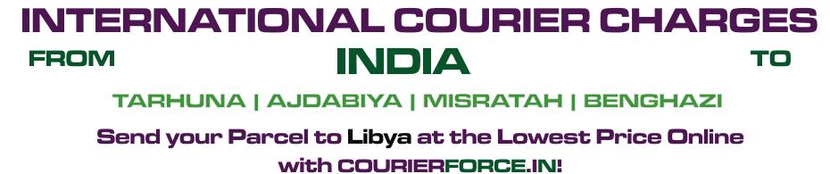 INTERNATIONAL COURIER SERVICE TO LIBYA
