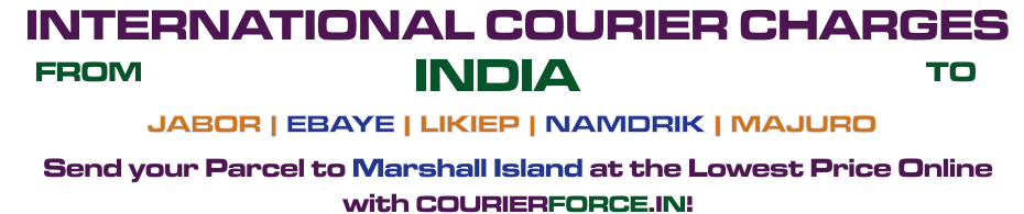 INTERNATIONAL COURIER SERVICE TO MARSHALL ISLAND