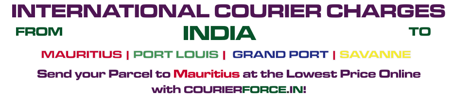 INTERNATIONAL COURIER SERVICE TO MAURITIUS