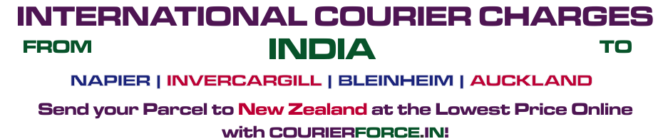 INTERNATIONAL COURIER SERVICE TO NEW ZEALAND