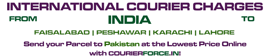 Courier To Pakistan Cheap Parcel Delivery To Pakistan