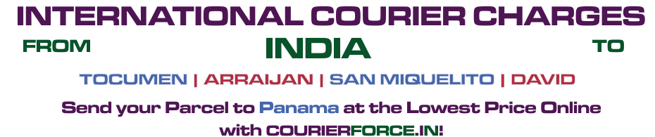 INTERNATIONAL COURIER SERVICE TO PANAMA