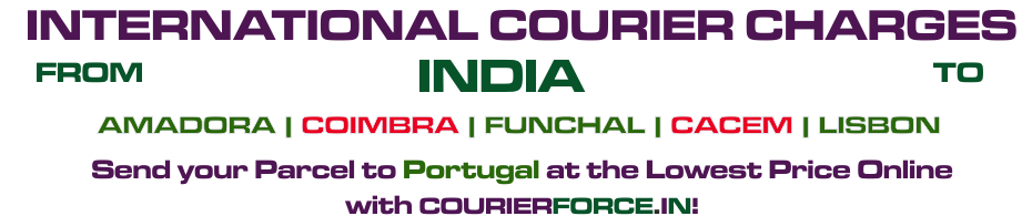 INTERNATIONAL COURIER SERVICE TO PORTUGAL