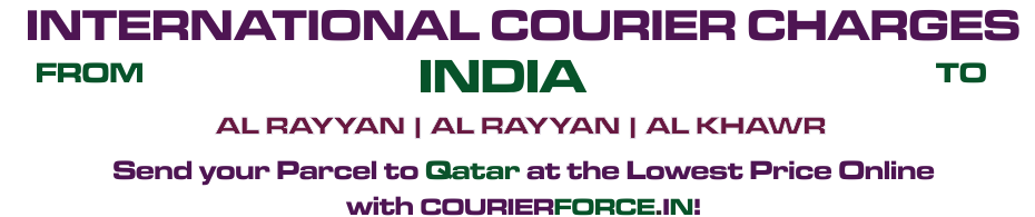 INTERNATIONAL COURIER SERVICE TO QATAR