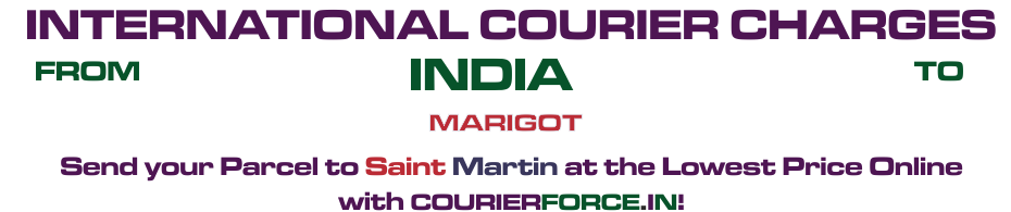 INTERNATIONAL COURIER SERVICE TO SAINT MARTIN