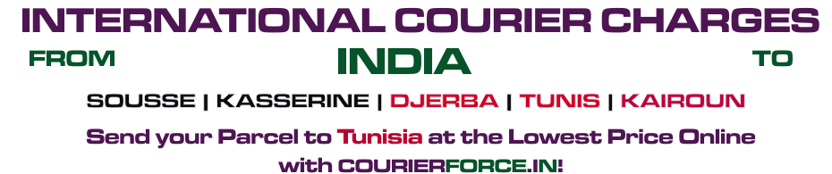 INTERNATIONAL COURIER SERVICE TO TUNISIA