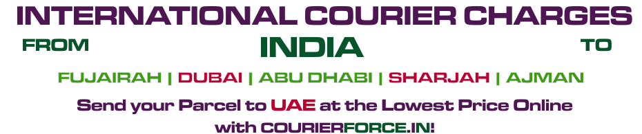 INTERNATIONAL COURIER SERVICE TO UAE