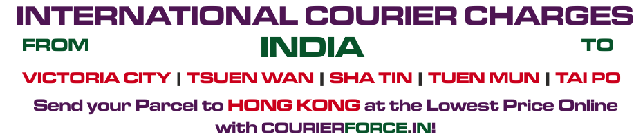 COURIER TO Hong Kong