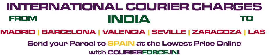 INTERNATIONAL COURIER TO Spain