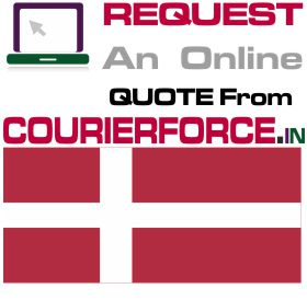 Courier to Denmark from India