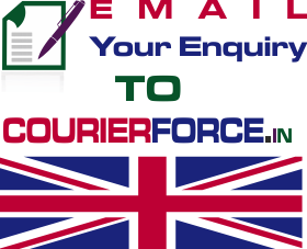 Courier delivery to UK from Delhi email enquiry form