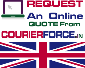 courier services to uk from Hyderabad online quote form