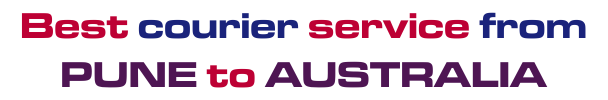Best Courier Service From Pune To Australia