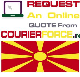 Courier Charges For Macedonia