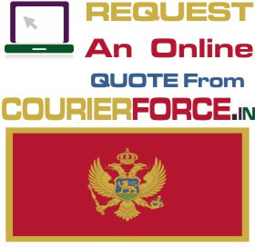 Courier Charges For Montenegro