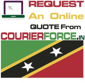 Courier Charges For Saint Kitts and Nevis