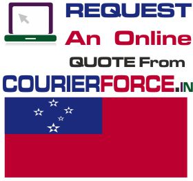Courier Charges For Samoa