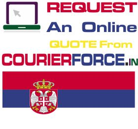 Courier Charges For Serbia