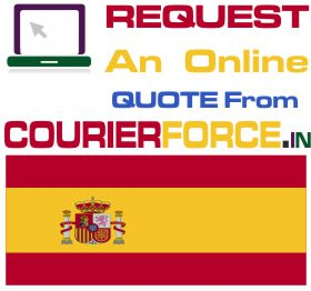 Courier To Spain