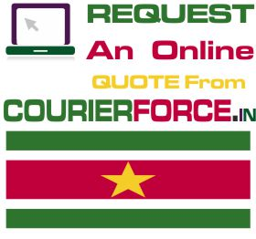 Courier Charges For Suriname