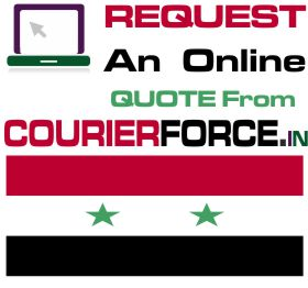 Courier Charges For Syria
