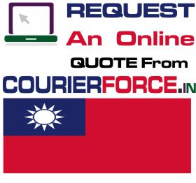 Courier Charges For Taiwan