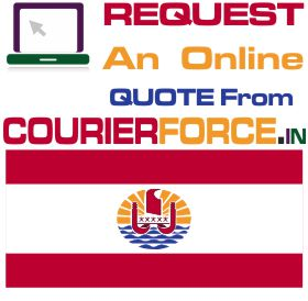 Courier Charges For French Polynesia