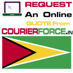 Courier Charges To Guyana