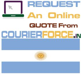 courier charges for argentina