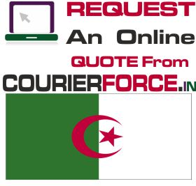 courier charge for algeria