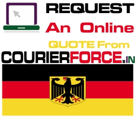 courier charge for germany