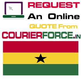 Courier Charges For Ghana