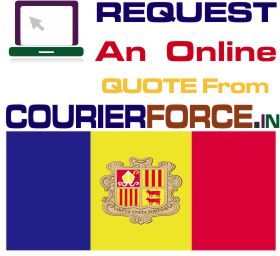 courier charges for andorra