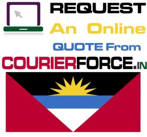 courier charges for antigua and barbuda