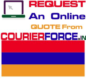 courier charges for armenia