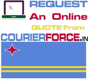 courier charges for aruba
