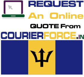 courier charges for barbados