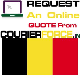 courier charges for belgium