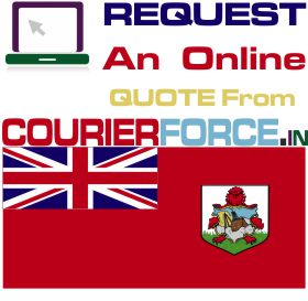 courier charges for bermuda
