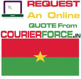 courier charges for burkina faso
